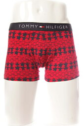 Tommy Hilfiger トミーヒルフィガー TOMMY HILFIGER パンツアンダーウェア ボクサーパンツ メンズ 1U87904457 レッド 楽ギフ_包装