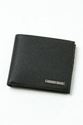 アルマーニ アルマーニ アルマーニジーンズ ARMANI JEANS 財布 2つ折り財布 938541 CC990 ブラック 送料無料 楽ギフ_包装