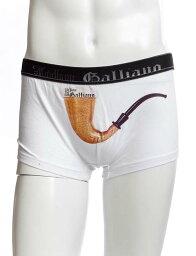 John Galliano ジョンガリアーノ John Galliano ジョン ガリアーノ パンツアンダーウェア ボクサーパンツ メンズ L1B H097 ホワイト G-SALE