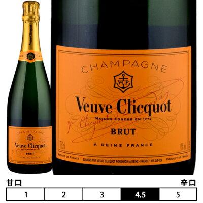 シャンパーニュ ヴーヴ・クリコ イエローラベル ブリュット[N/V]フランス シャンパン 泡・白 750ml Veuve Clicquot [Yellow Label Brut]