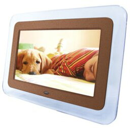 ゾックス デジタルフォトフレーム ZOX(ゾックス) デジタルフォトフレーム DS-DA85N100BRM(ブラウンメタリック) 8.5インチ液晶 時計・カレンダー機能搭載 写真再生専用モデル。