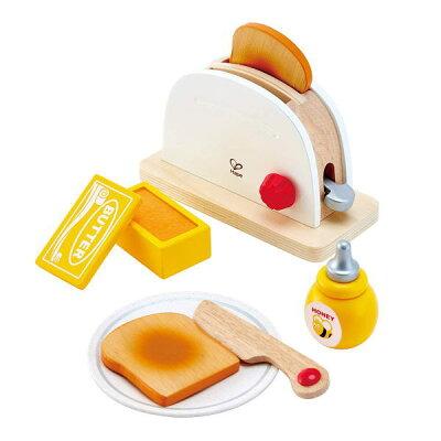 Hape(ハペ)トースターセット E3148  おままごと 知育玩具 木製玩具 おもちゃ