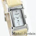 ミシェルジョルダン ミッシェル・ジョルダン スポーツ 腕時計 天然ダイヤモンド エレガンス レディースウォッチ MJ-1027P-2 ベージュ