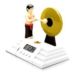 目覚し時計 ゴング型デジタル目覚まし時計 おもしろ アラーム 置時計[送料無料(一部地域を除く)]