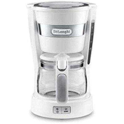 デロンギ コーヒーメーカー ホワイト ICM14011J-W[新生活][調理器具]【YDKG-kd】[送料無料(一部地域を除く)]