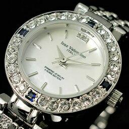 アイザックバレンチノ 腕時計(レディース) アイザックバレンチノ IVL-9100-1  レディース サファイア