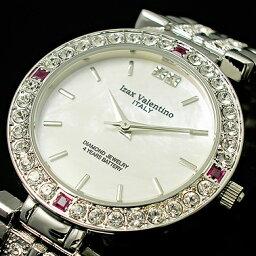 アイザックバレンチノ 腕時計(レディース) アイザックバレンチノ IVG-9100-2 IVL-9100-2 メンズ レディース ルビー