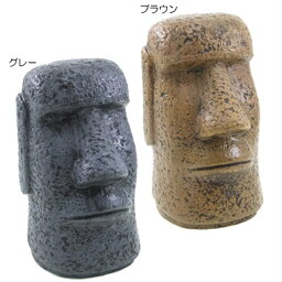 モアイ アッシュトレイ 陶器製灰皿 モアイ像 おもしろギフト雑貨 喫煙具 通販 【プレゼント】【あす楽】