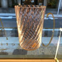 ベネチアガラス グラス クラッシーヴェネチアンガラス ベネチアン 棒グラス コップ リネア ライトピンク 贈り物 御祝