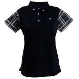 フィドラ フィドラ(FIDRA) ゴルフウェア レディース チェックポロシャツ FI51UG02 NVY (Lady's)