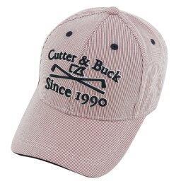 カッター&バック カッターアンドバック(CUTTER&BUCK) ストライプキャップ (メンズキャップ) CBM0349 R412 【16春夏】