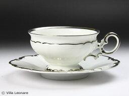 フッチェンロイター 【フッチェンロイター】リヴィア プラチナ カップ&ソーサー