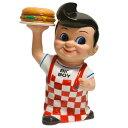 キャラクター貯金箱 BIGBOY ビッグボーイ ボビー コインバンク 貯金箱 フィギュア ハンバーガー レストラン キャラクター カンパニー グッズ プレゼント ギフト