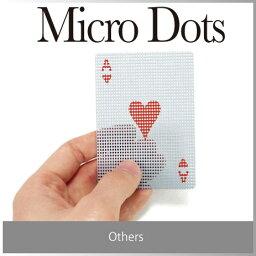 マイクロドッツトランスパレント  ( あす楽 ) トランプ おもしろ デザイン 盛り上がる パーティー アイテム マイクロ ドッツ トランスパレント カード プラスチック かわいい 透ける 透明【micro dots transparent card 】/ WakuWaku