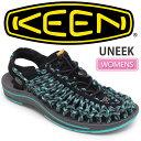 キーン 【WINTER SALE/40%OFF】・KEEN UNEEK (WOMENS)[ブラック/ラグーン]キーン ユニーク サンダル (ウィメンズ)レディース(女性用)【靴】_11510F(wannado)レビューを書くともれなく500円クーポンプレゼント!