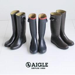 エーグル AIGLE エーグル シャンタベル レディース レインブーツ 長靴 ロング丈 8521 CHANTEBELLE JP ラバーブーツ 正規品