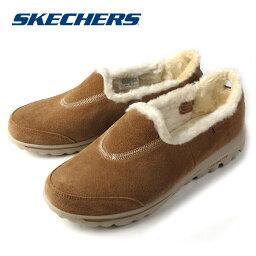 スケッチャーズ SKECHERS GOwalk - Fuzzy スケッチャーズ ゴーウォーク 13764 チェスナット ウィメンズ レディース ウォーキングシューズ