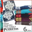 ペンドルトン PENDLETON ペンドルトン タオル ハンドタオル ハンカチ ジャガード XB200 6カラー JACQUARD HAND TOWELS メンズ レディース