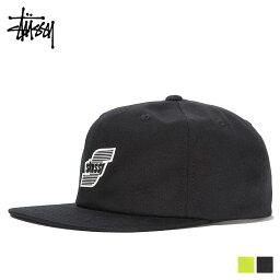 ステューシー STUSSY 3D MOLDED LOGO STRAPBACK CAP ステューシー キャップ 帽子 メンズ スナップバック ブラック グリーン 131823