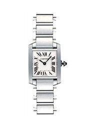 カルティエ タンクフランセーズ 腕時計(レディース) 【新品】カルティエ レディース W51008Q3タンクフランセーズ ホワイト SS/SM クオーツ【car_10p】