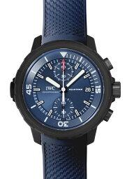 IWC アクアタイマー 腕時計(メンズ) 【新品】IWC IW379507 アクアタイマー クロノグラフ ローレウス・スポーツ・フォー・グッド SS/ブルーラバー ブルー 自動巻き クロノグラフ 1000本限定モデル