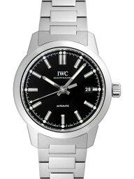 IWC インヂュニア 腕時計(メンズ) 【新品】IWC IW357002 インヂュニア オートマティック SSブレス 自動巻き ブラックダイアル