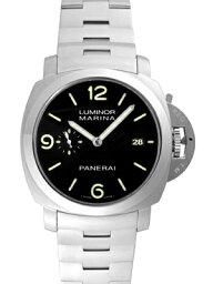 ルミノール 腕時計(メンズ) 【新品】パネライ PAM00328 ルミノール1950マリーナ スリーデイズ(3days) SSブレス 44mm 自動巻き