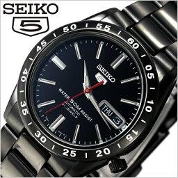 セイコーファイブ セイコー メンズ 腕時計 海外モデル SNKE03KC(SNKE03K1) SEIKO 時計 セイコー5 セイコーファイブ SEIKO5 黒い稲妻 ブラック 海外セイコー 逆輸入 機械式 自動巻き オートマ メカニカル ブラックサンダー 中学生 高校生 大学生 就活 就職 プレゼント ギフト 入試 受験 成人式