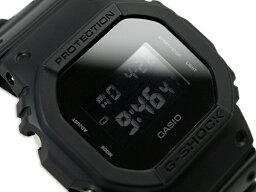 カシオ G-SHOCK 腕時計(メンズ) G-SHOCK Gショック カシオ 限定 Solid Colors ソリッドカラーズ デジタル 腕時計 オールブラック DW-5600BB-1 DW-5600BB-1DR