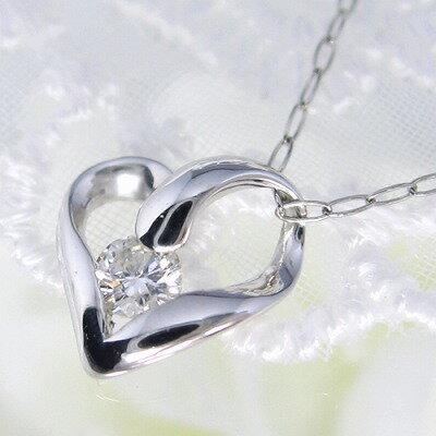 プラチナ ダイヤモンド ネックレス 0.08カラット 一粒 送料無料 受注品 ダイヤネックレス Pt900  一粒 ダイヤモンドネックレス シンプル 1粒ダイヤ 記念 ジュエリー お祝い ギフト 誕生日プレゼント 女性 贈り物 ダイアモンド 首飾り