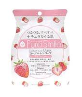 ヨーグルト サンスマイル Pure Smile ピュアスマイル エッセンスマスク ヨーグルトシリーズ ストロベリー PS-YG002 (1枚入) フェイスマスク ウェルネス
