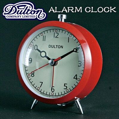 アラームクロック(クォーツ)#1 [全6色][PK完売] AlarmClock(Quartz)【ダルトン DULTON】目覚まし時計 西海岸 インダストリアル