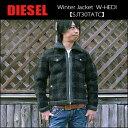 ディーゼル DIESEL(ディーゼル) Winter Jacket @W-HEDI[SJT30TATC] カジュアル ウール ジャケット ブルゾン メンズ アウター 厚手15【\63,800】【特別価格品】 【smtb-kd】【RCP】