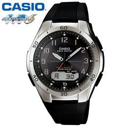 ウェーブセプター 【送料無料】CASIO カシオ ソーラー電波時計 腕時計 ゴールド 電波時計 マルチバンド6 腕時計 カシオ スポーティー ウェブセプター WAVE CEPTOR ソーラー 電波腕時計 メンズ 白 ソーラー腕時計 ギフト