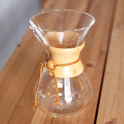 6カップ用 箱入り ケメックス(CHEMEX) コーヒーメーカー (コーヒーメーカー)(ワイン(=750ml)8本と同梱可) [S]