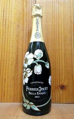 【3本以上ご購入で送料・代引無料】ペリエ ジュエ ベル エポック ブラン シャンパーニュ ヴィンテージ 2012 正規 泡 白 シャンパン ワイン 辛口 750ml (ペリエ・ジュエ)PERRIER JOUET Cuvee BELLE EPOQUE Fleur de Champagne Millesime [2012] AOC (Millesime)
