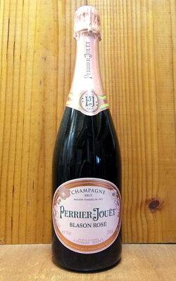 ペリエ・ジュエ・シャンパーニュ・ブラゾン・ロゼ・ブリュット・正規代理店輸入品PERRIER-JOUET Champagne BLASON-ROSE Brut