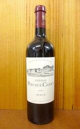 格付けフランスワイン(VDQS) シャトー ポンテ カネ 2007 メドック グラン クリュ クラッセ格付第5級 AOC ポイヤック シャトー元詰 フランス ボルドー 赤ワイン ワイン 辛口 フルボディ 750ml (シャトー・ポンテ・カネ)