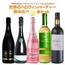 ワイン飲み比べセット 【送料無料】今年のHAPPYハロウィンパーティーはこれで決まり!!世界のハロウィンパーティーワイン飲み比べ5本セット