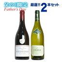 カード付きワイン 父の日限定ワインセット 極上赤白2本 5000円セットA (ご希望の方にはメッセージカード ギフト箱 無料ラッピング付き)Father's Day Special Wine Set