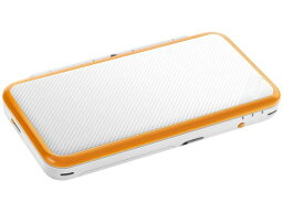 DS NINTENDO ゲーム機本体(ポータブル) Newニンテンドー2DS LL [ホワイト×オレンジ]