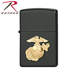 ミリタリーZippo 割引クーポン対象!◆ROTHCO ロスコ Zippo ミリタリー ロゴライター 【4847-Marines】【WIP03】