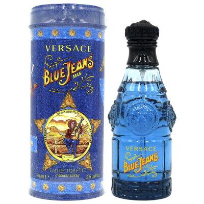 ヴェルサーチ VERSACE ブルージーンズ EDT SP 75ml BLUE JEANS【あす楽対応_お休み中】【香水 メンズ レディース】【EARTH】【香水 ブランド 人気 ギフト 誕生日 プレゼント】