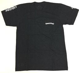 クロムハーツ 【Chrome Hearts】クロムハーツ Tシャツ Mens SS CREW C18-1C Black★ メンズ 半袖 Tシャツ 本物 正規品 アメリカ買付 USA直輸入