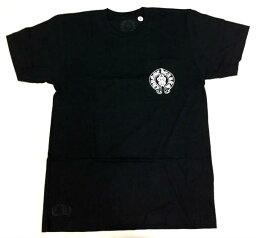 クロムハーツ 【Chrome Hearts】クロムハーツ Tシャツ Mens SS CREW C16-5 Black★ メンズ 半袖 Tシャツ 本物 正規品 アメリカ買付 USA直輸入