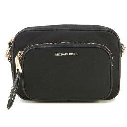 マイケルコース ポシェット マイケルコース ショルダーバッグ Michael Michael Kors Leila Nylon Camera Bag (Black) ナイロン カメラバッグ (ブラック) 新作 正規品 レディース バッグ クロスボディバッグ ポシェット ミニバッグ 斜めがけ