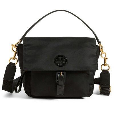 トリーバーチ ショルダーバッグ Tory Burch Tilda Nylon Crossbody Bag (Black) ナイロン クロスボディバッグ (ブラック) 新作 正規品 アメリカ買付 レディース バッグ ショルダーバッグ ポシェット 斜めがけ メッセンジャーバッグ