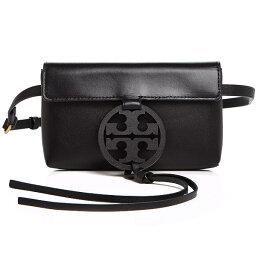 トリーバーチ ポシェット トリーバーチ ショルダーバッグ Tory Burch 56346MILLER BELT BAG (Black) ミラー レザー ベルトバッグ (ブラック) Miller Small Leather Belt Bag 新作 正規品 レディース バッグ ボディバッグ ポシェット