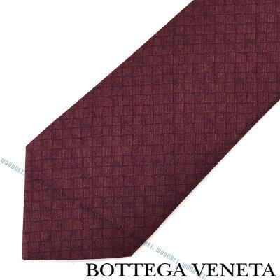 BOTTEGA VENETA ネクタイ ボッテガベネタ メンズ シルク ボルドー 430900-4V0096460 ブランド