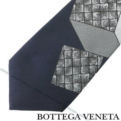 BOTTEGA VENETA ネクタイ ボッテガベネタ メンズ シルク ミッドナイトブルー 532194-4V0024069 ブランド
